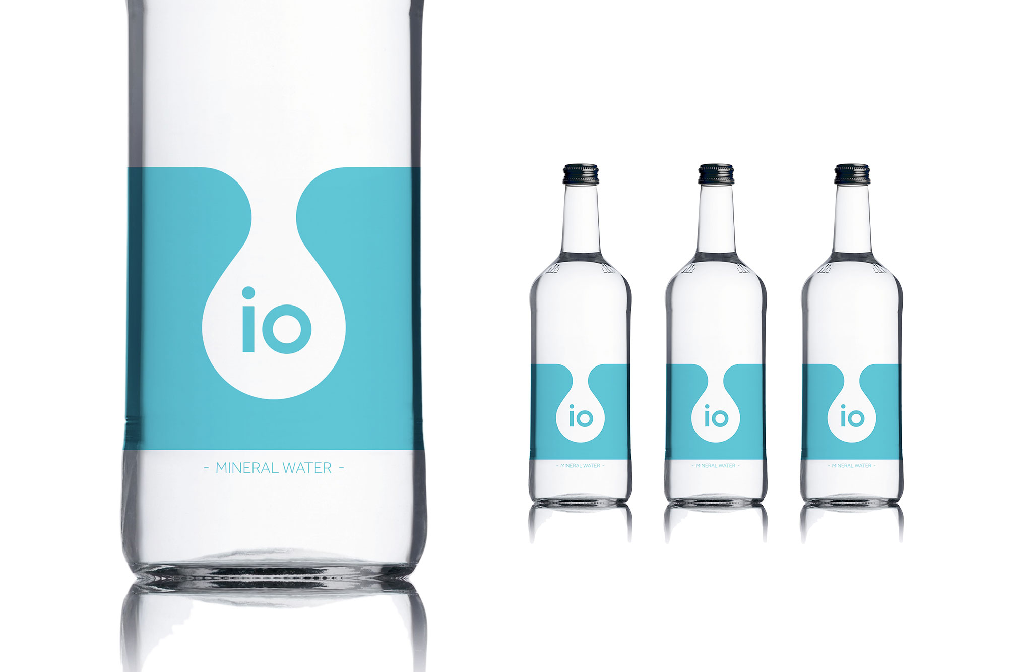 IO Water Bottle Close Up