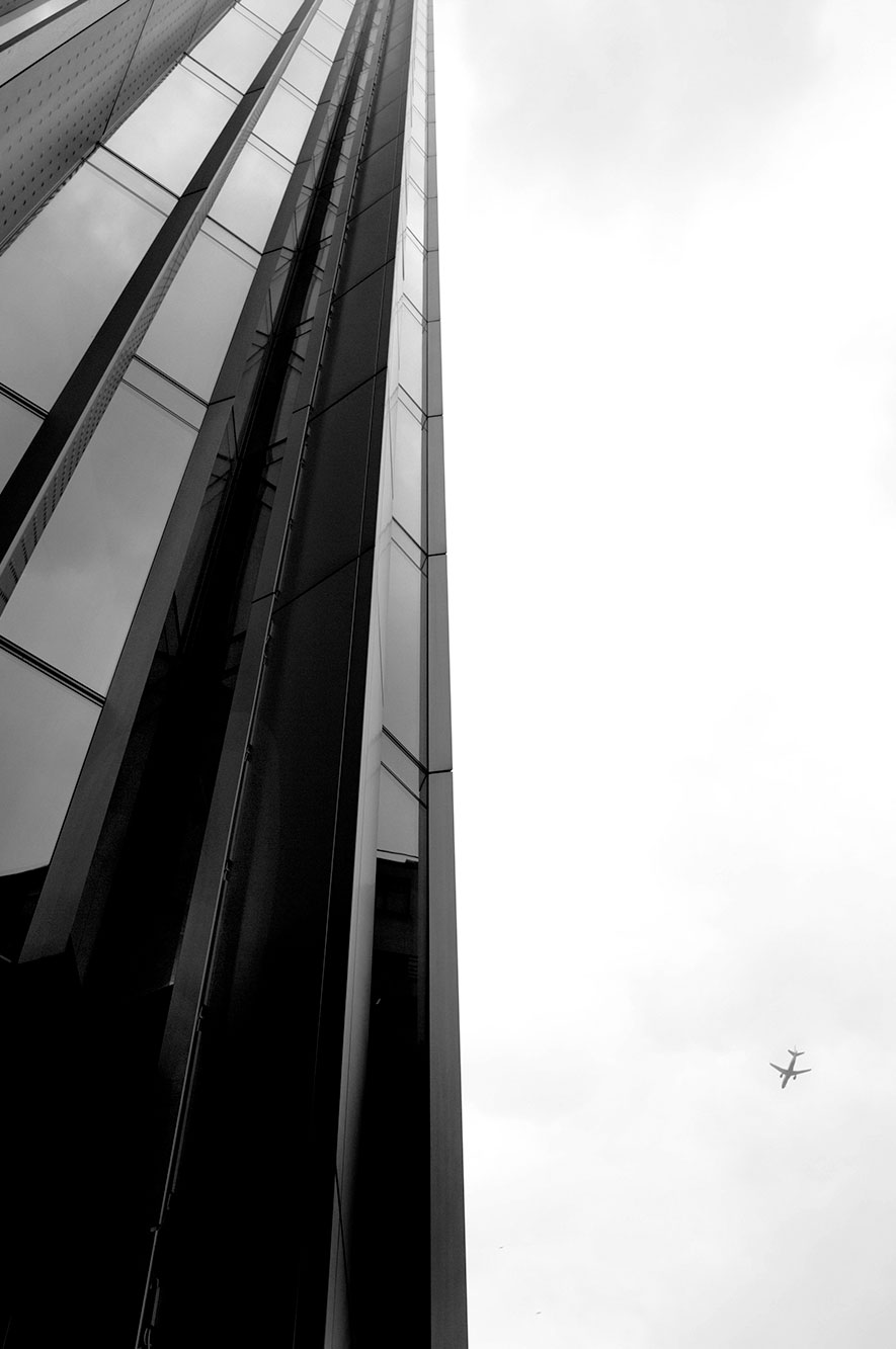 Capture London with plane