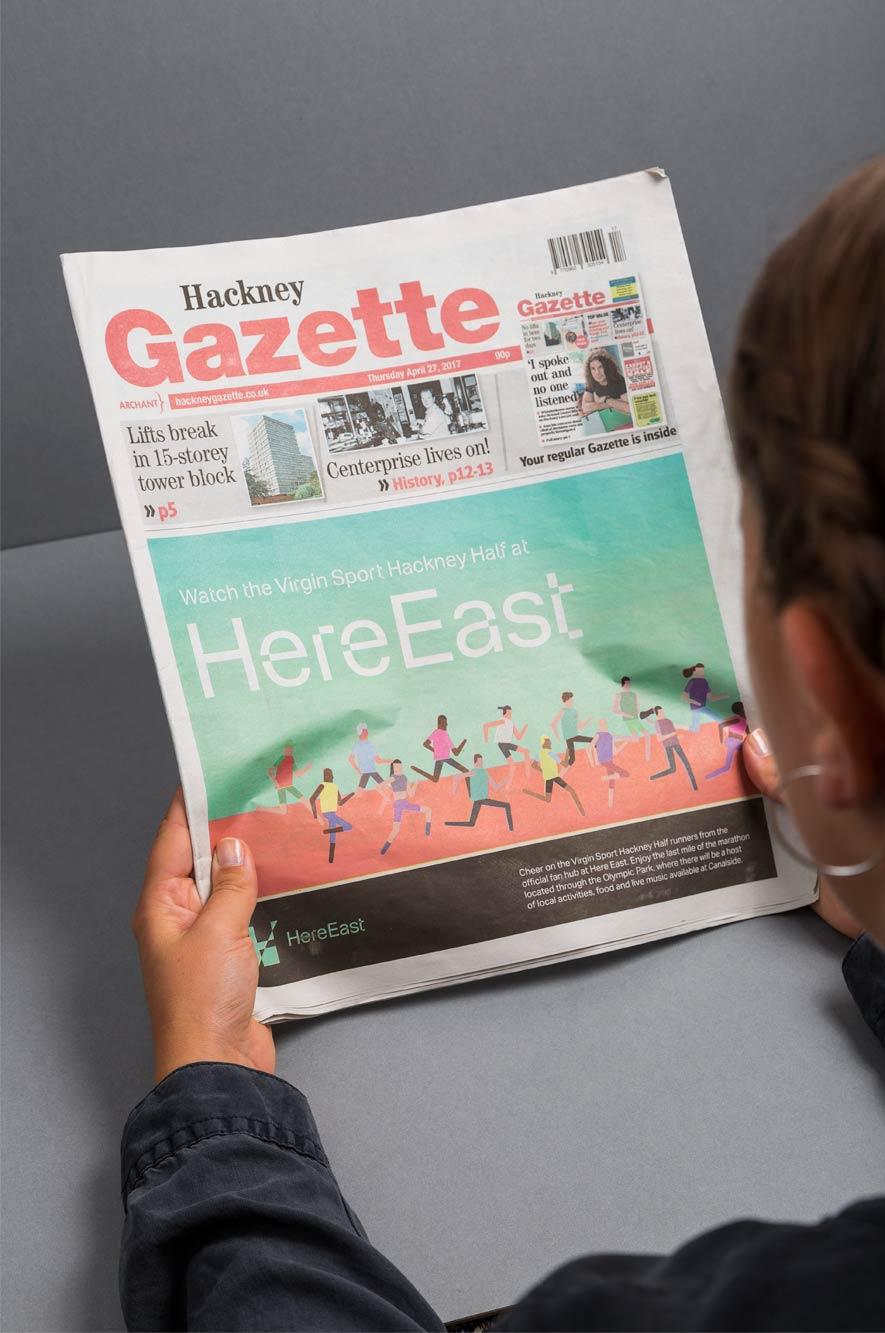 Here East Gazette Reading
