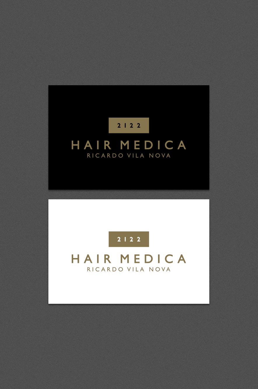 2122 Hair Medica Business Card