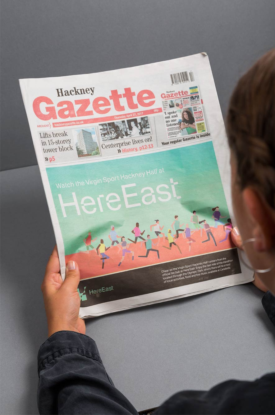 Here East Gazette Reading