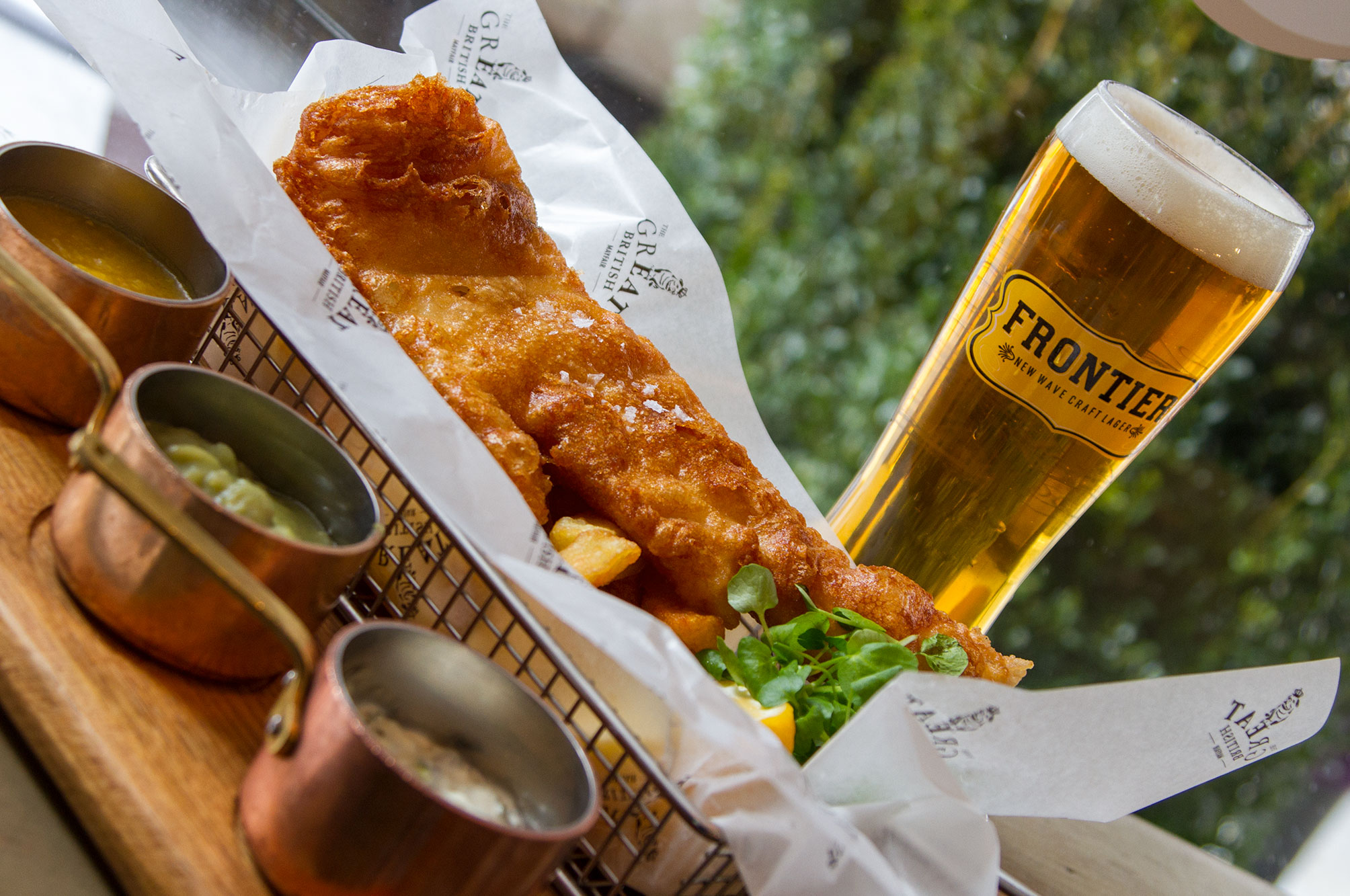 The Great British Fish And Chips