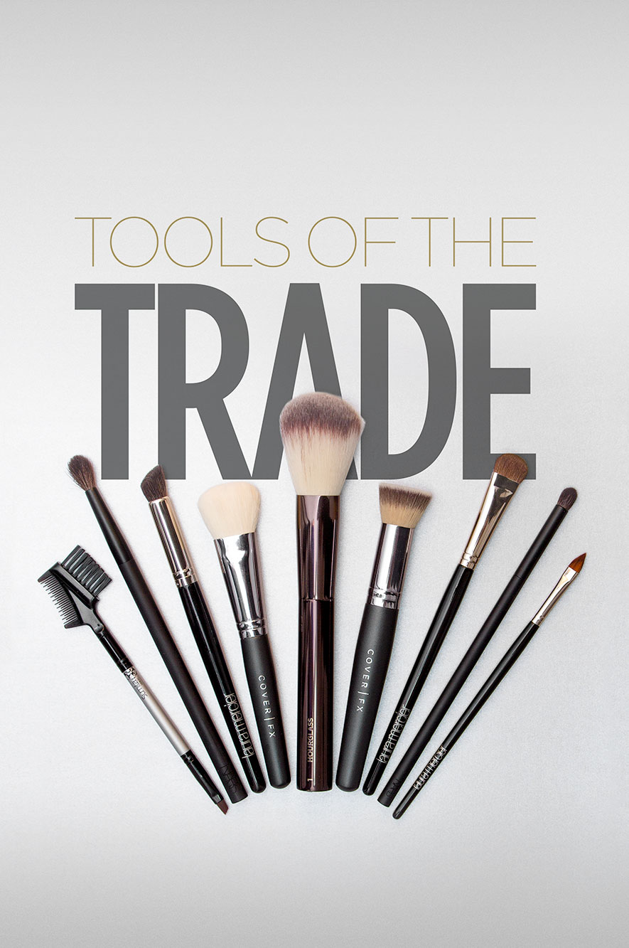 Tools of the trade product photography