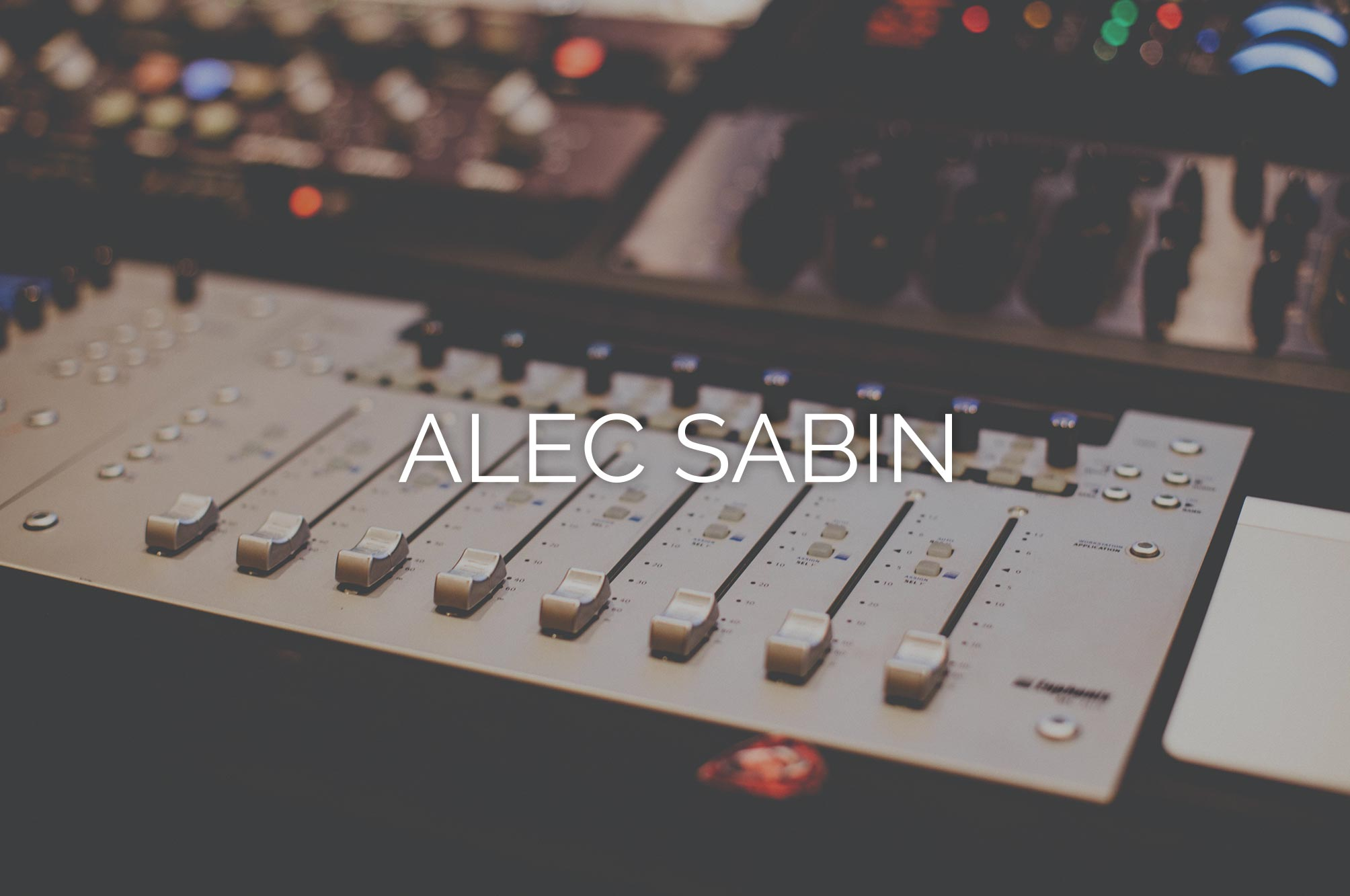 Alec Sabin Website