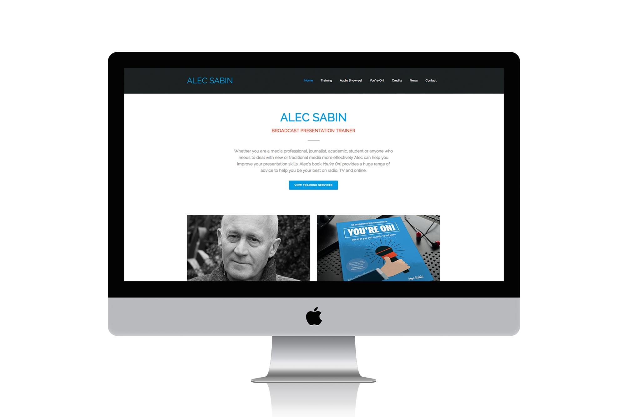 Alec Sabin Website