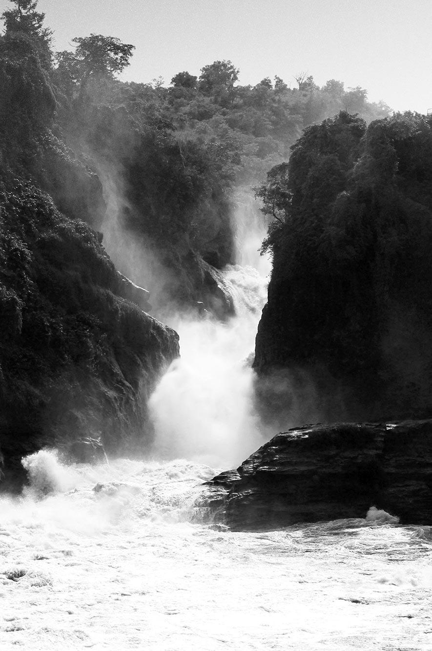 Murchison Falls Waterfall in Uganda