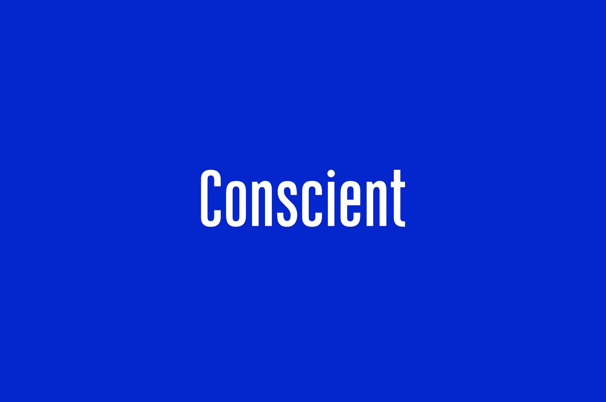 Conscient