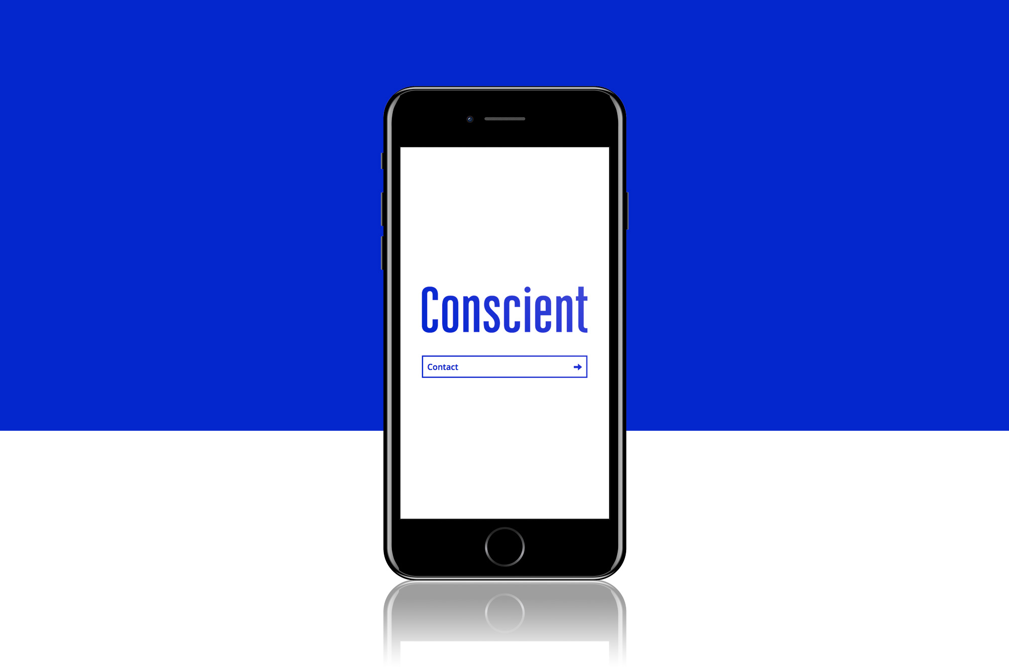 Conscient Website on Mobile