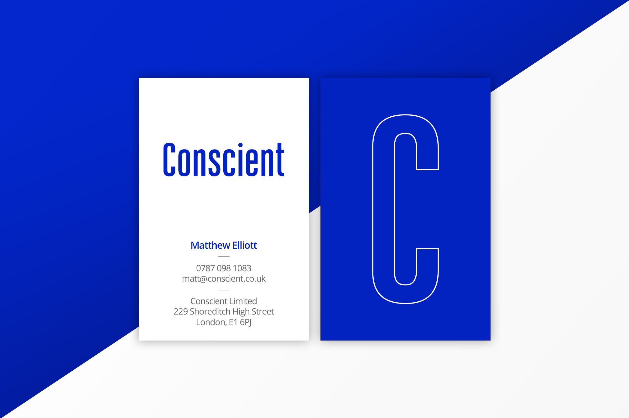 Conscient Business Card